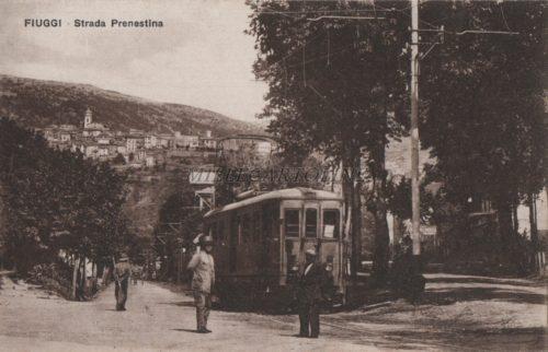 Cartolina postale FIUGGI Prenestina