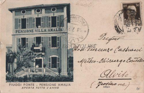 Cartolina Postale FIUGGI Amalia