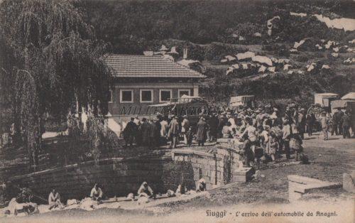 Cartolina Postale FIUGGI Anagni