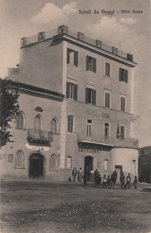 Cartolina Postale FIUGGI Roma