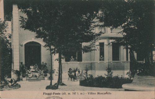 Cartolina Postale FIUGGI Moscariello