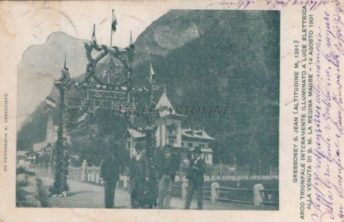 Cartolina Postale GRESSONEY S. JEAN