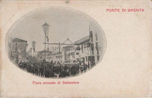 Cartolina Postale PONTE DI BRENTA