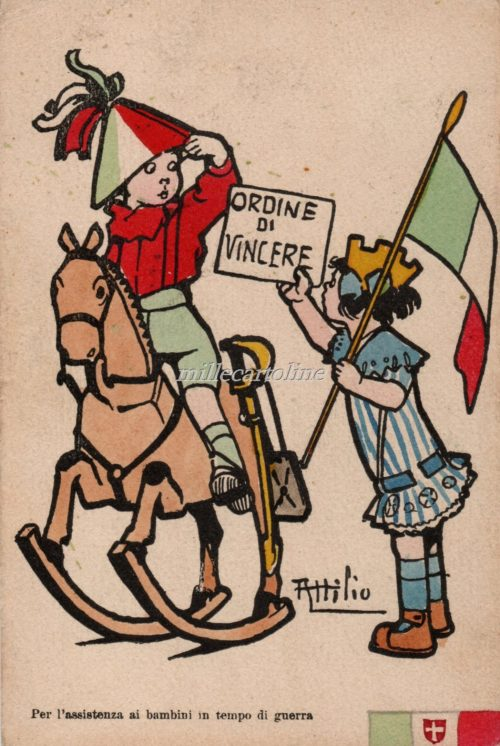 Cartolina Postale WWI Mussino