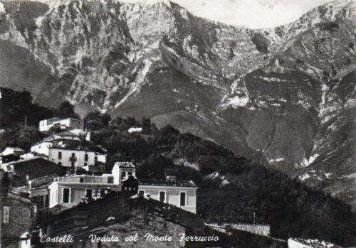 Cartolina Postale CASTELLI Ferruccio