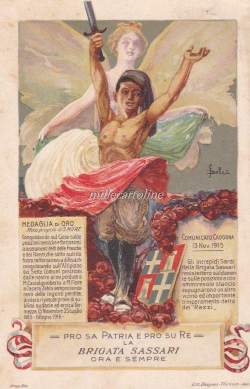 Cartolina Postale BRIGATA SASSARI