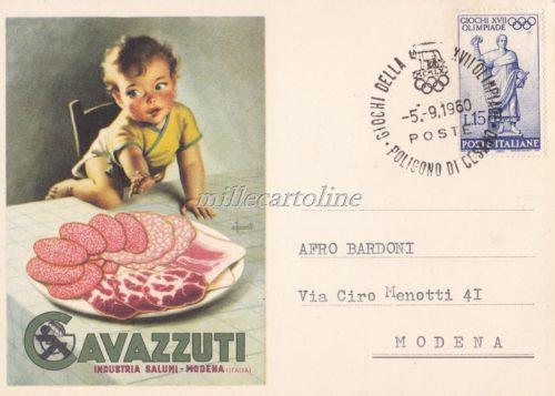 Cartolina Postale CAVAZZUTI