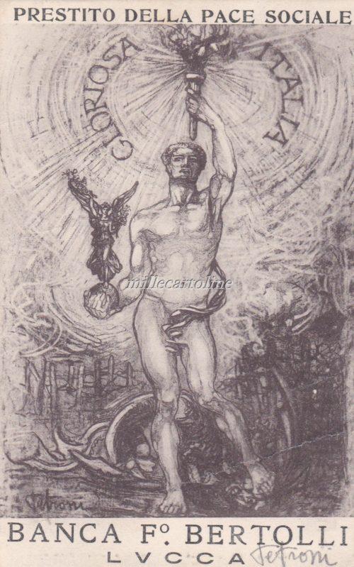Cartolina Postale PRESTITO NAZIONALE